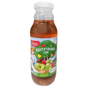 Сок Varto яблочный 0,3л
