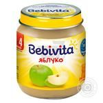 Bebivita for children from 4 months apple pure 125ml