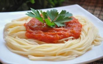 """Спагетти """"Ницца"""""""