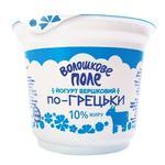 Йогурт Волошкове поле По-гречески сливочный 10% 200г