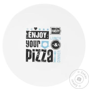 Bormioli Rocco Rustic Pizza and Beer Pizza Plate 33cm - buy, prices for Tavria V - image 1