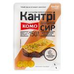 Сир Комо Кантрі напівтвердий зі смаком пряженого молока нарізаний 50% 150г - купити, ціни на Фуршет - фото 1
