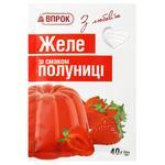 Желе Впрок со вкусом клубники 40г