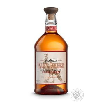Wild Turkey Rare Breed Bourbon Whiskey 58.4% 0.75l