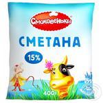 Smakovenka 15% Sour Cream 400g