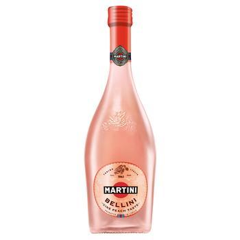 Вино игристое Martini Bellini розовое сладкое 8% 0,75л