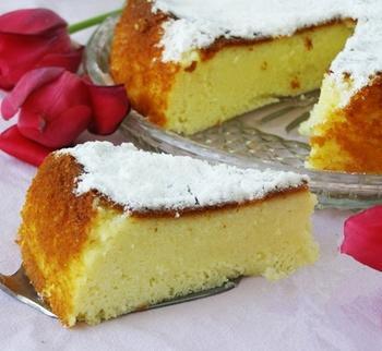 Сирно-манний пиріг в мультиварці