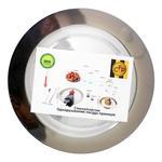 Тарелка одноразовая CapitalForPeople стеклопластик 26см 6шт