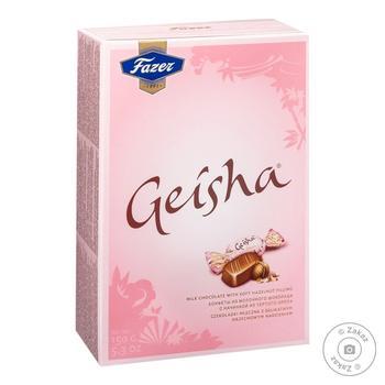 Конфеты Fazer Geisha с тертым орехом 150г - купить, цены на Novus - фото 2