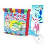 Зажимы АПА для пакетов 10шт - купить, цены на Таврия В - фото 1