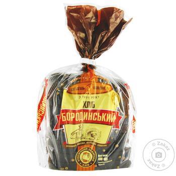 Хлеб КиевХлеб Бородинский нарезанный 400г - купить, цены на Фуршет - фото 6