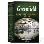 Чай чорний Greenfield Earl Grey Fantasy с бергамотом 100г