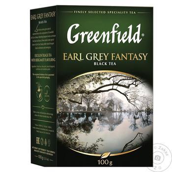 Greenfield Earl Grey Fantasy With Bergamot Black Tea 100g - buy, prices for Novus - image 1