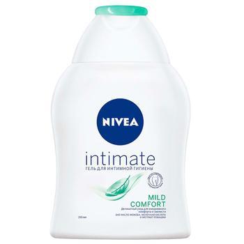 Гель для интимной гигиены Nivea Intimate Natural с экстрактом ромашки и молочной кислотой 250мл - купить, цены на Метро - фото 1
