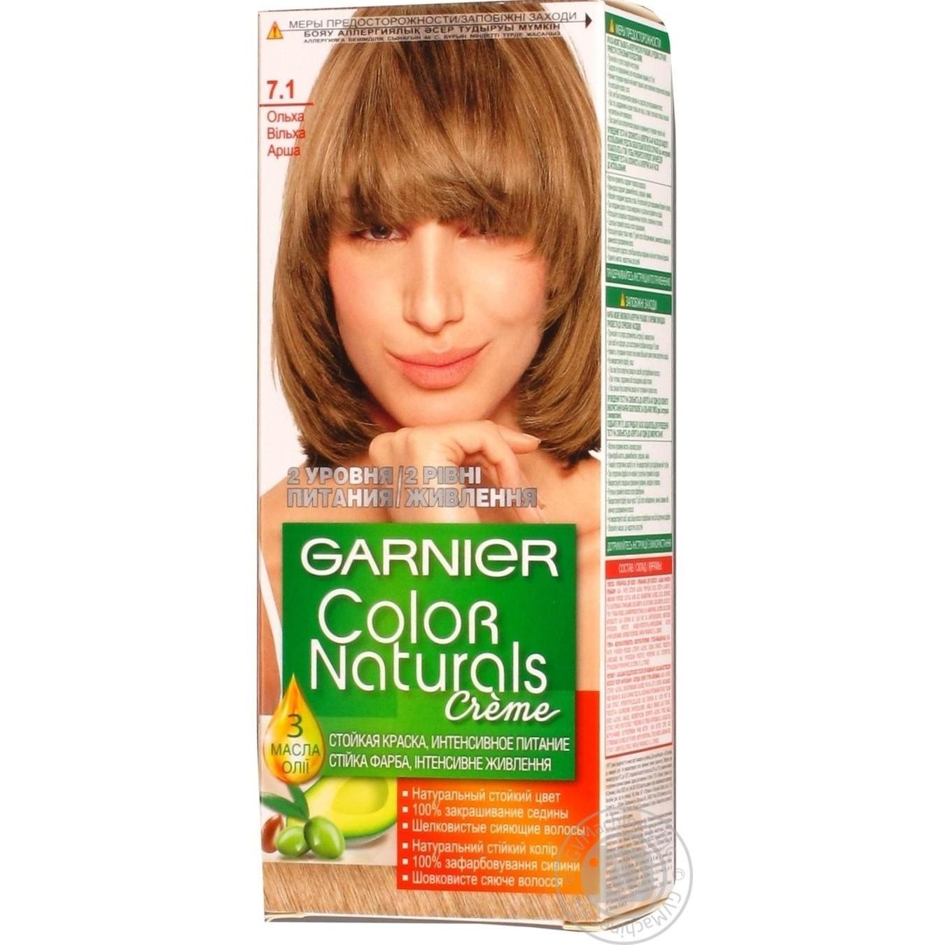 Color Garnier Color naturals alder for hair → Hygiene → Hair care ...