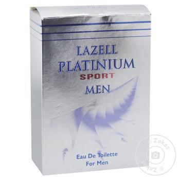 Туалетна вода Lazell Platinum Sport MEN 100мл