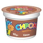 Fanni with cocoa cottage cheese 15% 90g