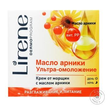 Cream Lirene to deep wrinkles 50ml - buy, prices for Novus - image 1