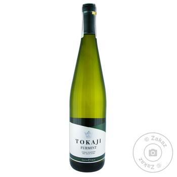 Вино Tokaji Furmint Dry біле сухе 12,5% 0,75л - купити, ціни на МегаМаркет - фото 1