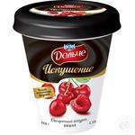 Йогурт десертный Дольче Искушение Вишня 2,5% 300г