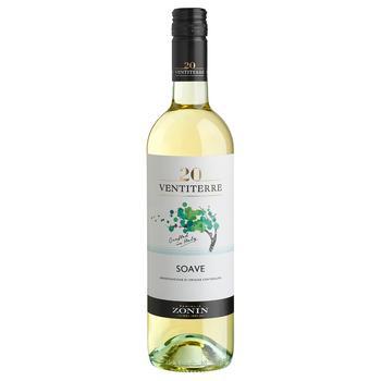 Zonin Soave White Wine 12% 750ml - buy, prices for Auchan - photo 1