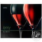 Bohemia Lenny Glasses for wine 6pcs 430ml