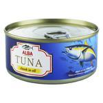 Alba Food Whole Tuna in Oil 150g
