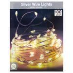 Garland 100 LED Lamps Warm Light 5,1m