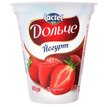 Dolce Strawberry Flavored Yogurt 3,2% 280g
