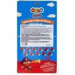 Ozmo Hoppo cocoa biscuits with strawberry cream filling 40g - buy, prices for Auchan - image 2