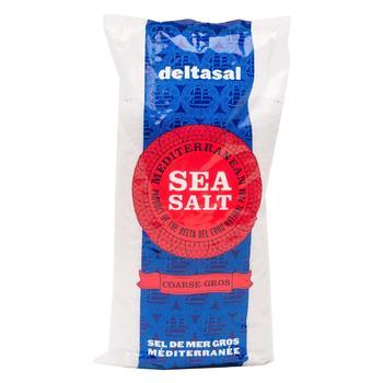 Соль морская Deltasal крупного помола 1кг