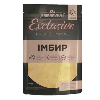 Pripravka Exclusive Professional ground ginger 50g - buy, prices for CityMarket - photo 1
