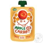 Puree Ovko carrot sugar free for children from 6 months 90g doypack