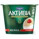 Activia oatmeal with strawberries yogurt 2.2% 195g