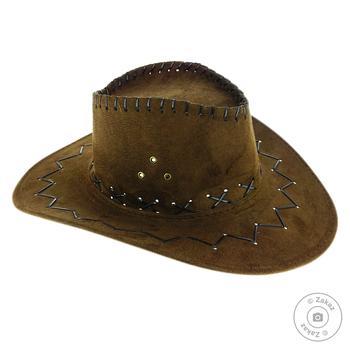 Шляпу ковбой Астра Дистрибьюшн AR10059 - купить, цены на Фуршет - фото 1