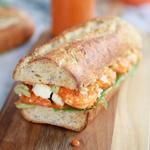 Сэндвич с крабовым мясом и сыром