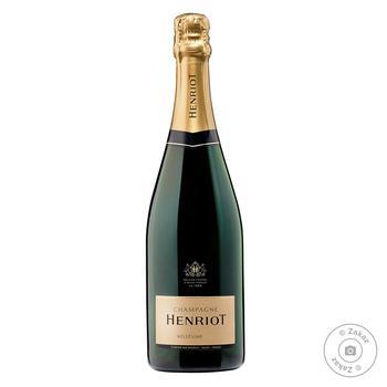 Шампанське Henriot Millesimato біле брют 12% 0.75л - купити, ціни на Восторг - фото 1