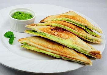 Мятный сэндвич