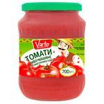 Томаты Varto в томатном соке пастеризованные 700г