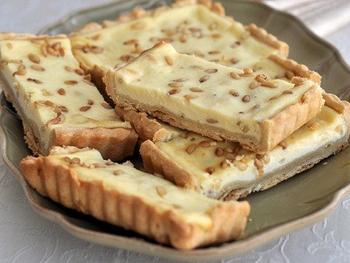 Тарт с орехами