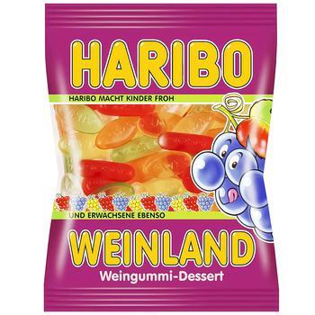Haribo Weinland Fruit Chewing Candies 100g