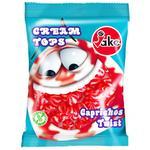 Жевательные конфеты Jake с клубничным кремом 100г