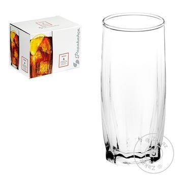 Набір склянок 315 мл Danse 6 шт. 42868