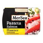 Паштет MerSea рыбный из лосося пастеризованный 160г