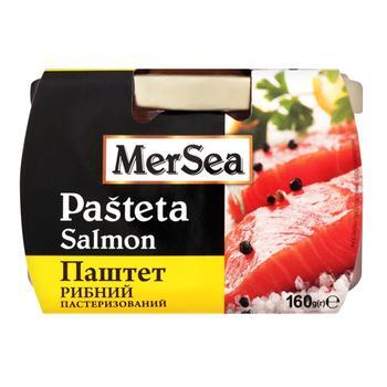 Паштет MerSea рибний з лосося пастеризований 160г