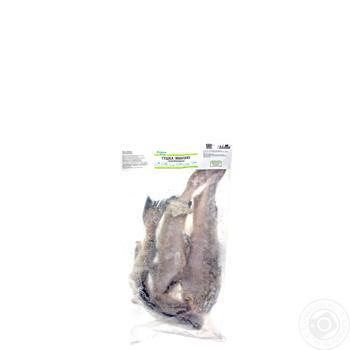 Минтай Каждый день тушка свежемороженая - купить, цены на Ашан - фото 1