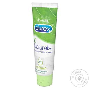 Гель-смазка Durex Naturals 100мл - купить, цены на Метро - фото 1
