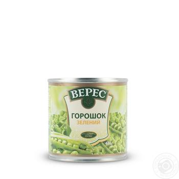 Veres canned green pea 420g