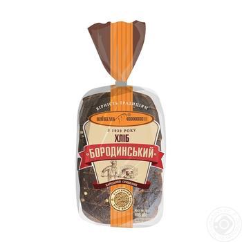 Хлеб КиевХлеб Бородинский нарезанный 400г - купить, цены на Novus - фото 5
