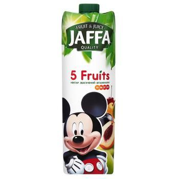 """Fruit nectar enriched with vitamins Jaffa """"5 Fruit""""  0,95l"""